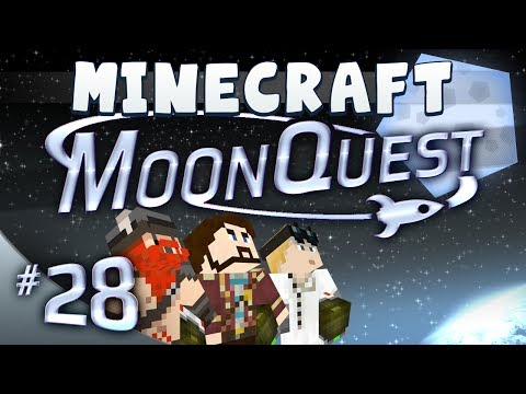 minecraft - Welcome to MoonQuest, where our heroes embark on an epic adventure to fire Simon into space and reach the moon! We've built our own custom minecraft mod pack...