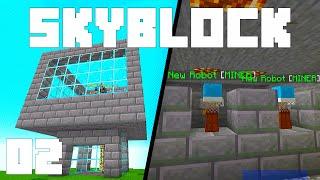 Minecraft Skyblock - Ep. 2: BIG MONEY MACHINES! (ChaosCraft 1.15.2)