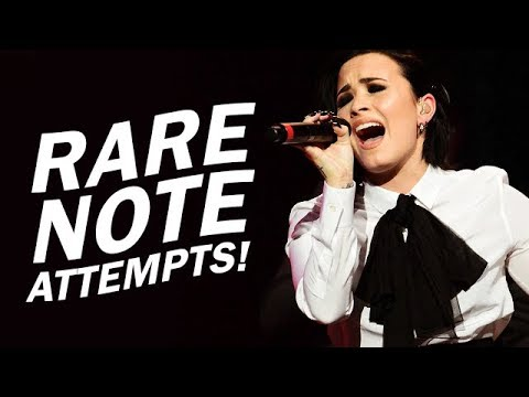 Video Demi Lovato - LEAST Attempted High Notes! (Live) download in MP3, 3GP, MP4, WEBM, AVI, FLV January 2017