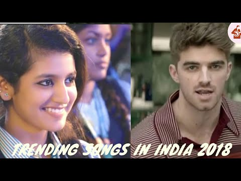 TOP 10 TRENDING|ENGLISH| |HINDI| SONGS IN INDIA [FEBRUARY] 2018