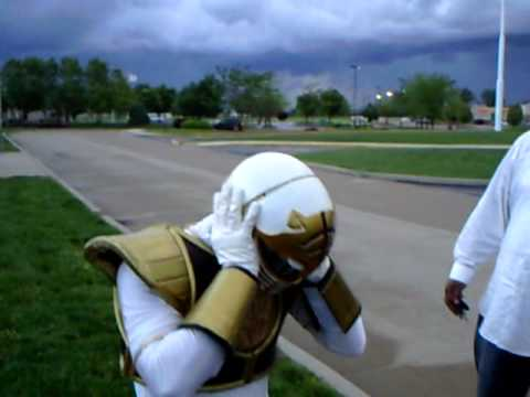 White Power Ranger Fixes Race Relations