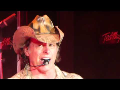Ted Nugent Thanks Armed Forces & Stranglehold  July 19 2017 Nashville