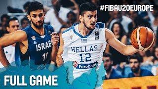 Watch the final between Greece and Israel at the FIBA U20 European Championship 2017. ▻▻ Subscribe: http://fiba.com/subYT...