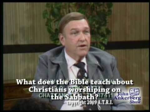 Walter Martin on Christians Worshipping on Sabbath