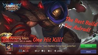 Video The Best Build For New Hero Aulrad or Aldous, OP one hit Kill Critical MP3, 3GP, MP4, WEBM, AVI, FLV November 2018