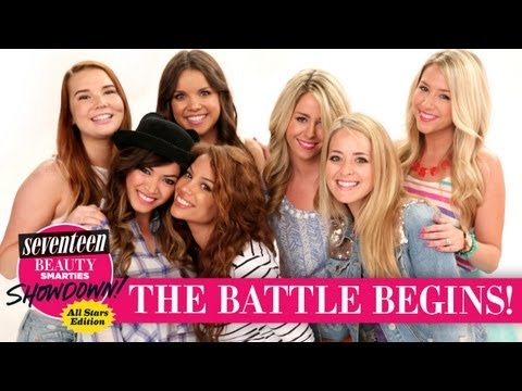 Beauty - The biggest beauty gurus on YouTube face-off in the first installment of Seventeen's newest Beauty Smarties Showdown. Watch as FleurDeForce, AndreasChoice, E...