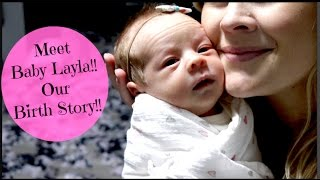 Hi everyone!! I'm so excited for you all to meet my sweet little Layla!! It's hard to believe that is has already been a week! But it has been the best week for our family!! Thank you so much for all of the love and support you've given us! We love you all!! Be sure to watch our family vlog channel:) Caseylavere- https://www.youtube.com/user/caseylavereBaby Vlogs- https://youtu.be/EpalEtDR9TM                     https://youtu.be/nrz0W9VDaUYWhat's Inside My Hospital Bag- https://youtu.be/GKnl-5juonQBaby Q&A with Gage- https://youtu.be/CIMncA-JllQBaby Girl Accessory Haul- https://youtu.be/4XpyPw-bNls35 Week Update- https://youtu.be/ng1KiQtLqeMBaby Girl Name Reveal- https://youtu.be/ExO572iBdssBaby Names WE Love but Won't Be Using- https://youtu.be/i8LyJp4Bwxw10 Names I Love But Won't Be Using- https://youtu.be/-pFT0Md3F_cBaby Q&A with Brai-https://youtu.be/V_7fpLZfpV4Big Baby Girl Haul- https://youtu.be/DPUssnWHXYISurprise Gender Reveal- https://youtu.be/LOuwPFuKaX4Emotional Baby Gender Reveal- https://youtu.be/7t8w0ilpnzoPregnancy Q&A- https://youtu.be/AhVZCA2vSzc8 Ways to Predict Baby Gender- https://youtu.be/xrzZM_k2E-YRing Gender Test- https://youtu.be/rTw5jghUNcc24 week update- https://youtu.be/NM-XprBoT1U21 week update- https://youtu.be/2U-hM9tZXTQ17 week Update- https://youtu.be/UZWBrgQgyPk14 Week Update- https://youtu.be/FC_vlIREnm011 Week Update: https://youtu.be/VCi0ndjvKy0Where's Mommy's Baby: https://youtu.be/hsVSgE4Wt-kBig Brother to Be!! DIY shirt: https://youtu.be/bvLgpj_9rAcThe Moms View:https://youtu.be/5ulrtH719y0http://www.blanqi.com -Most amazing maternity leggings & Support tanks!!:) Follow me!Instagram- https://www.instagram.com/heykayli/Facebook: https://Facebook.com/HeyKayliPageTwitter: https://Twitter.com//Hey_KayliSUBSCRIBE to HEYKAYLIhttp://bit.ly/HeyKayliSUBSCRIBE to CASEYLAVEREhttp://bit.ly/CaseyLavereChannelSUBSCRIBE to HUSHINWITHLAVEREhttp://bit.ly/HushinWithLavereSUBSCRIBE to THEMOMSVIEWhttp://bit.ly/TMVChannel