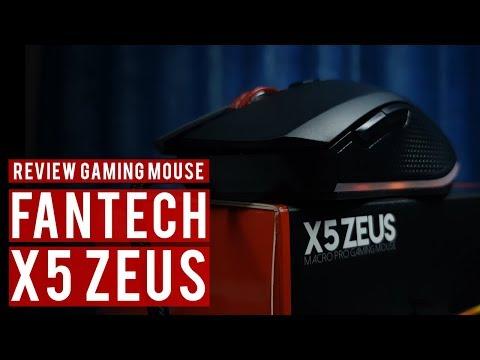 Fantech X5Zeus - Gaming Mouse RM59 Tapi!