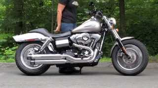 10. Harley Dyna Fat Bob FXDF Exhaust