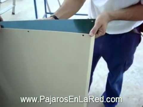 Jaulas voladeras para canarios videos videos for Jardin 1m2