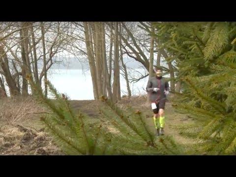 Schweriner Seentrail - Laufen auf schmalem Pfad