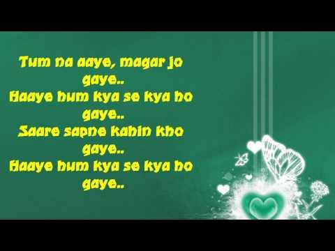 Video Sare Sapne Kahin Kho Gaye With Lyrics ♥ Alka Yagnik ♥ Tum Yaad Aaye download in MP3, 3GP, MP4, WEBM, AVI, FLV January 2017