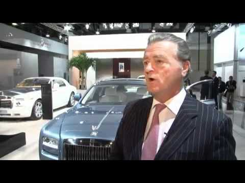 Launch of Rolls Royce Ghost at the Dubai International Motor Show 2009