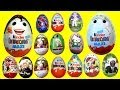 15 Surprise eggs Kinder Surprise  Hello Kitty Star Wars Mickey Mouse Маша и Медведь  my animation