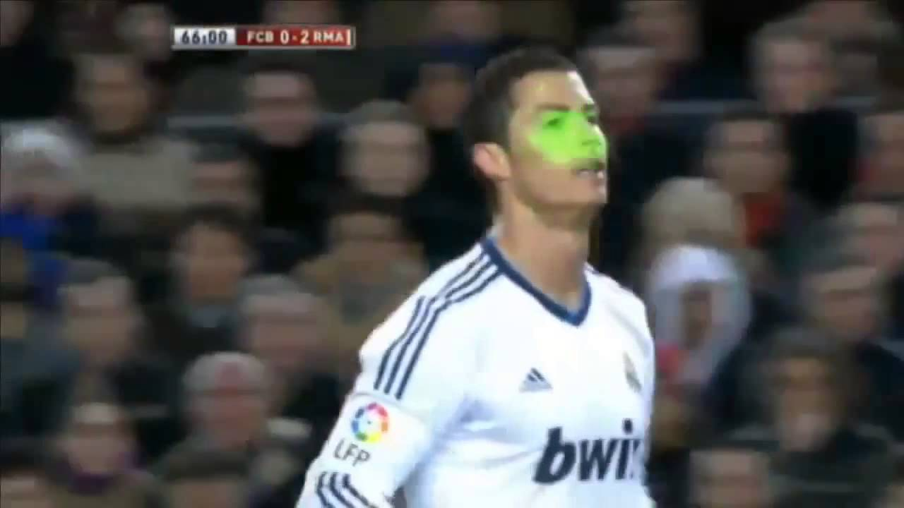 Ronaldo Tells Barca Fans to 'Calm Down' _ Barcelona vs Real Madrid, 26_02_13