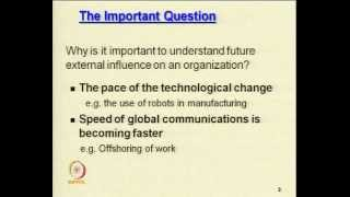 Mod-03 Lec-30 Environmental Analysis Techniques And Impact For Organizational Growth