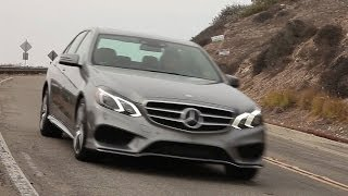 2014 Mercedes-Benz E550 4Matic Review - TEST/DRIVE