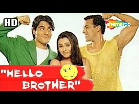 Hello Brother [1999] Salman Khan - Rani Mukerji - Arbaz Khan - Best 90's Hindi Comedy Movie