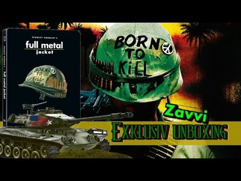 Full Metal Jacket - Zavvi Exclusive Limited Edition Steelbook Blu-ray Unboxing