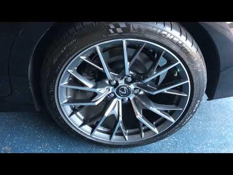 Lexus GS F wheels