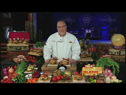 National Burger Month with Chef Russell Booth
