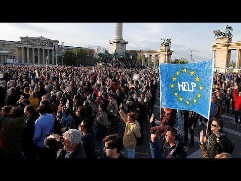 Νεα αντικυβερνητική διαδήλωση στη Βουδαπέστη