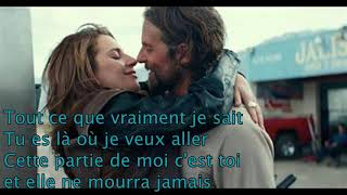 lady gaga always remember us this way traduction française