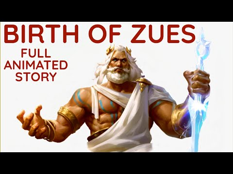 Birth of Zues Full Animated Story | Zeus: The Supreme God of Greek Mythology | Penn Down