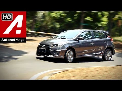 Test drive Toyota Yaris TRD Sportivo 2014 Indonesia by AutonetMagz