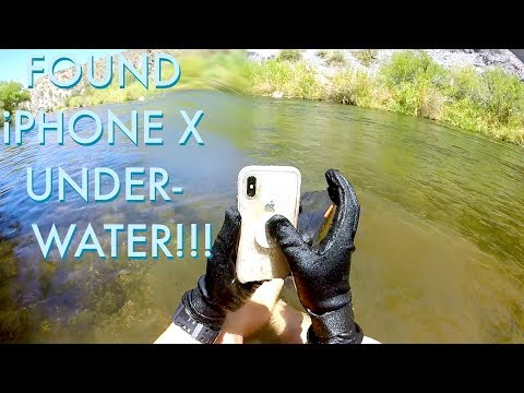 I Found an iPhone X Underwater in the River!!! iPhone Returned to Owner - BEST REACTION EVER!