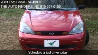 2003 Ford Focus ZTW 4dr Wagon for sale in DURHAM, NC 27703 a
