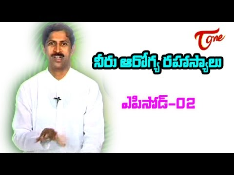 Dr Manthena   Importance of water and Secret of Human Health   02