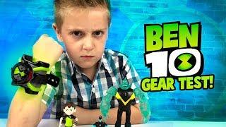 Video BEN 10 OMNITRIX Gear Test & Toys Review for Kids! MP3, 3GP, MP4, WEBM, AVI, FLV Juni 2018