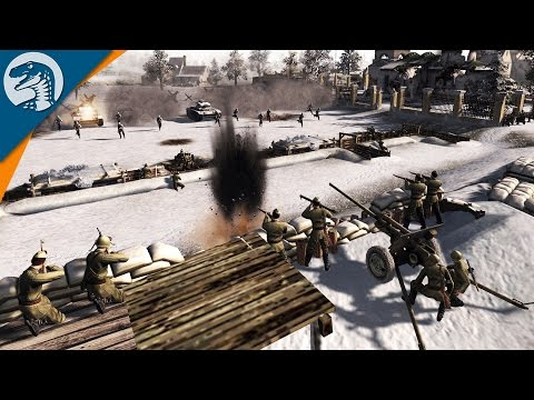 DEMOLISHING SOVIET DEFENSE LINE | SirHinkel's Mod | Men of War: Assault Squad 2 [MOD] Gameplay