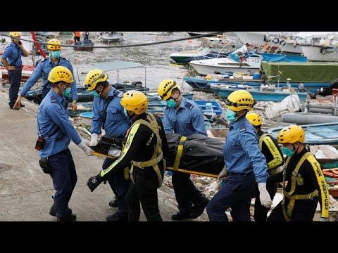 Τυφώνας Μανγκούτ: Άφησε πίσω του συντρίμμια