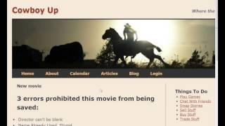 Ruby/Rails 4.0 - Lecture 16/29 - Movies with Images,Validation