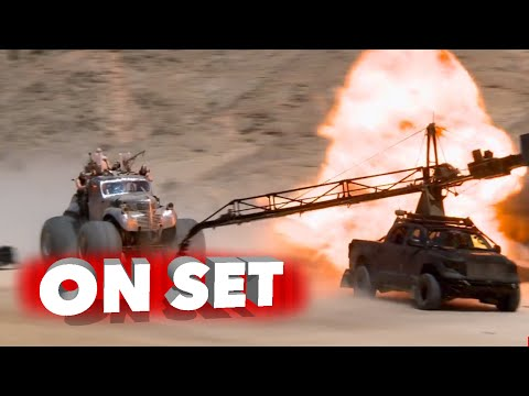 Before And After Shots Of The VFX Magic In Mad Max Fury