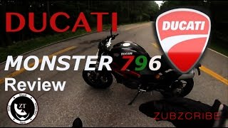 4. Ducati 796 Monster - Review