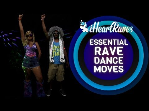 RAVE - http://www.iHeartRaves.com - Confused about how to dance at a rave? Don't worry! Jayfunk & Maverick will show you all the moves you need to become a bona-fid...