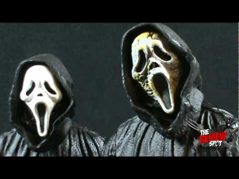 Toy Spot - Neca  Scream 4  Classic Mask and Zombie Mask Ghostface