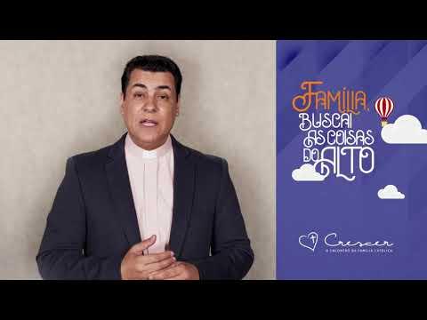 Convite de Pe Chrystian Shankar para o Crescer 2020