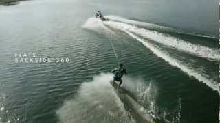 6. 2013 SEA-DOO 'DOO IT' WAKE SERIES - NIKE's Nick Taylor's Backside 360 How To
