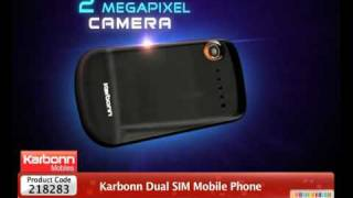 HomeShop18 - Karbonn Dual SIM Full Touch Screen Mobile Phone @3499