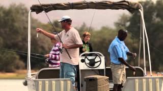 Initial frame of Royal Zambezi Lodge video
