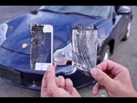 Using iPhones as Brake Pads Test