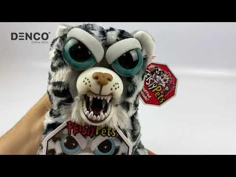 Мягкая игрушка Feisty Pets «Злой / Добрый Леопард»  / 22 см.