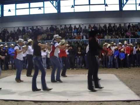 BALLANO I MAESTRI DI COUNTRY LINE DANCE- IL GIORNO DELLA PREMIAZIONE FIERACAVALLI 2009