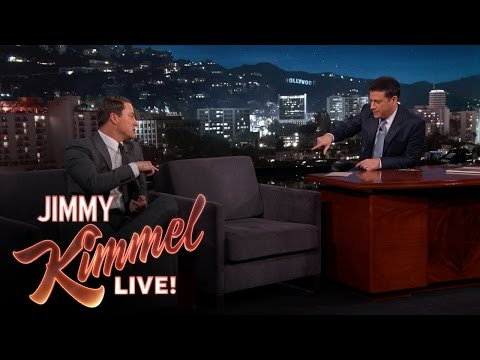 CHANNING TATUM - Jimmy helps Channing reunite with his childhood imaginary friend. SUBSCRIBE to get the latest #KIMMEL: http://bit.ly/JKLSubscribe Watch the latest Halloween Candy Prank: http://bit.ly/KimmelHallo...