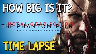 How Big Is Metal Gear Solid 5? This has been a long awaited edition to the How Big Is It? series! So bang your feet up and enjoy this time lapse walk across all 3 areas of the MGSV map.» Music: Anders Ekengren - Picking Guitar 14» How Big Is It? Full Playlisthttps://www.youtube.com/watch?v=Q5_COXFqgDU&index=1&list=PLc8BhPpsPhWbolaLohLkiFff6QjobVfHV&t=10s» Don't forget to like the video and subscribe to the channel for more ridiculous videos like the one you've just seen.» Support me by becoming an 8-Bit Bastard Patreon, you'll gain access to exclusive content! https://www.patreon.com/8BitBastardStay Connected!• Twitter: https://twitter.com/8Bit_Bastard• Patreon: https://www.patreon.com/8BitBastard• Facebook: https://www.facebook.com/8BitBastard/