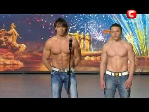 «Україна має талант-3» Киев - Just two men (акробаты) (видео)